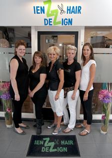 IenZ HairDezign bestaat 5 jaar.