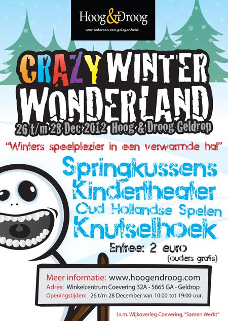 Crazy Winter Wonderland bij Hoog & Droog