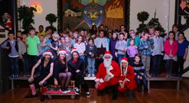 Jeugd Kerstdisco 2012 in Wijkcentrum De Dreef
