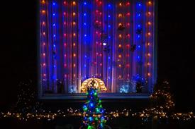 Kerstsfeer in St. Cyr