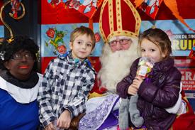 Sinterklaas in Winkelcentrum Coevering 2012