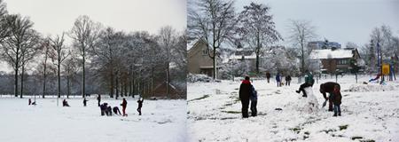 Sneeuw in de Coevering