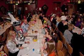 Carnavalsontbijt 2012 in Wijkcentrum De Dreef