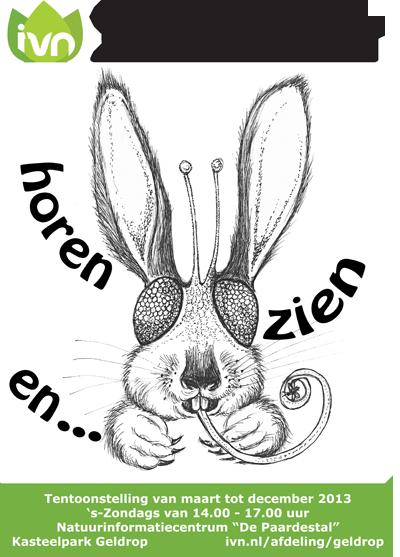 Poster Tentoonstelling IVN Geldrop 2013