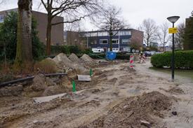 Aanleg drainage Coevering West 2014