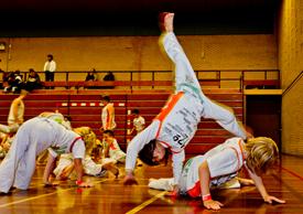 Capoeira lessen in Geldrop voor kinderen van 5 tot 11 jaar