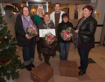 Prijswinnaars Winkelcentrum Coevering Kerst 2012