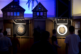 Jeugd dart tournooi 2014 in Wijkcentrum De Dreef