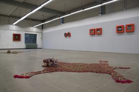 Expositieruimte De Ruimte in het oude postkantoor van Geldrop in 2014