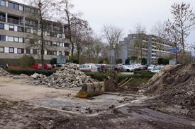 Werkzaamheden aan de drainage van Coevering-west 2014