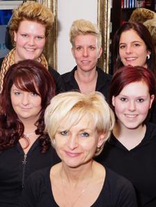 Team van IenZ Hair Dezign 2014