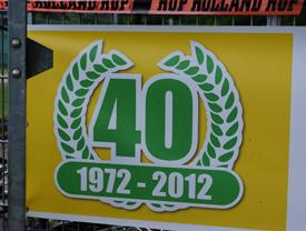 40-jarig jubileum Tennisvereniging De Mast