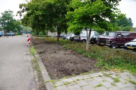 Nieuwe parkeerplaatsen Waleweinlaan