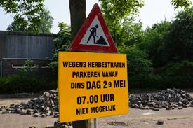 Herbestraten Adelaartlaan Geldrop 2012