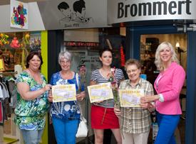 Prijswinnaars moederdag 2012