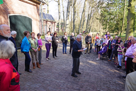 IVN tentoonstelling Winter en Lente in de Paardestal in de Kasteeltuin Geldrop