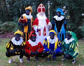 Sinterklaar helpt het Ronald McDonaldhuis