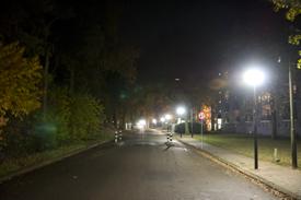 Nieuwe verlichting in de Adm. Byrdstraat