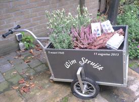 De eierkar van Wim Struijk