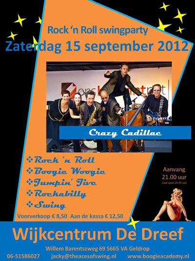 Crazy Cadillac in Wijkcentrum De Dreef